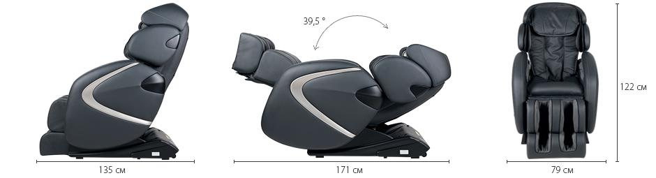 Массажное кресло Хилтон 2